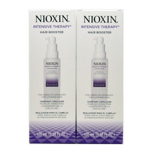 Intensive Therapy Hair Treatment - Nioxin Intensive Therapy Hair Booster 100 Ml/ 3.38 Fl. Oz. For Thin-looking Hair(pack of 2)