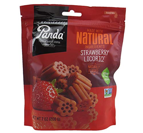 Panda All Natural Licorice Chews Strawberry (pack of 2) ()