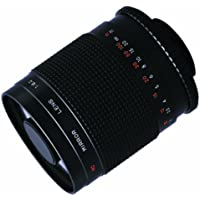 Bower High-Power 500mm f/8.0 Telephoto Mirror Lens (SLY5008) + 2x (doubles the zoom to 1000mm) for Panasonic LUMIX DMC-GH3, DMC-GH2, DMC-GX1, DMC-G3, DMC-G5, DMC-GF5, DMC-GFX, DMC-GF5XW & DMC-GF5XR