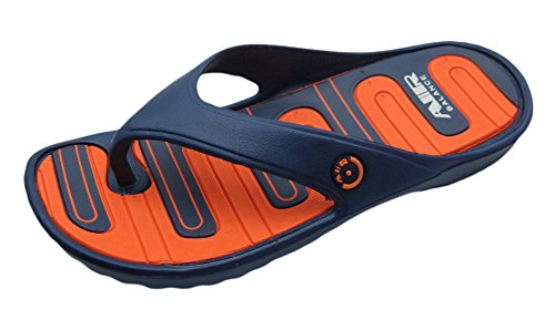 Air Ljus Och Bekväma För Män Elegant Dusch Strand Sandal Tofflor Marin / Orange Flip Flop