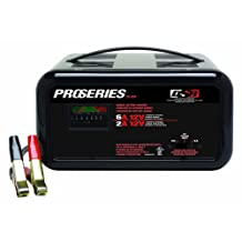 Schumacher PS-620 DSR ProSeries 2/6 Amp 12 Volt Manual Bench Battery Charger