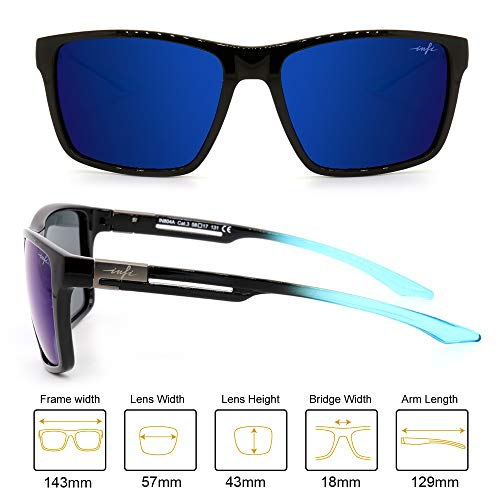 Fishing Polarized Sunglasses for Men Driving Running Golf Sports Glasses Square UV Protection Designer Style Unisex 2
