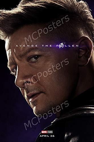 MCPosters - Marvel Avengers Endgame Hawkeye Glossy Finish Movie Poster - MCP951 (16