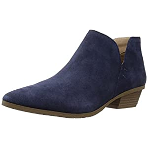 Kenneth Cole REACTION Women's Side Way Low Heel Ankle Bootie Boot