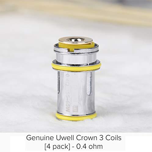 4 pcs Replacement C-o-i-l-s Heads for 0.25ohm 0.5ohm 0.4ohm for U-w-e-l-l Crown III (0.4ohm)