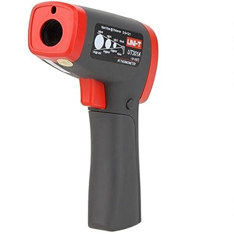 Amazon.com: UNI-T UT301A 12:1 Digital Infrared IR Thermometer Temperature Gun Meter Termometro -18~350 Centigrade: Home Improvement