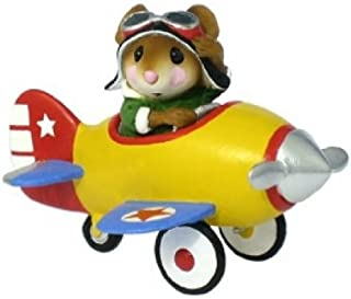 product image for Wee Forest Folk M-309 Pedal Plane - Yellow