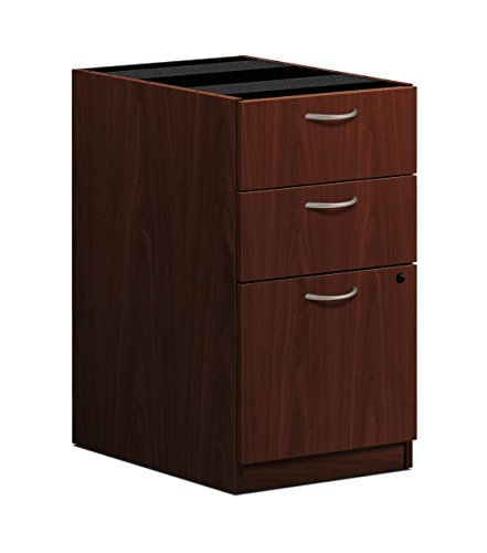 HON BL Series Pedestal File , 2 Box / 1 File Drawer , 15-5/8