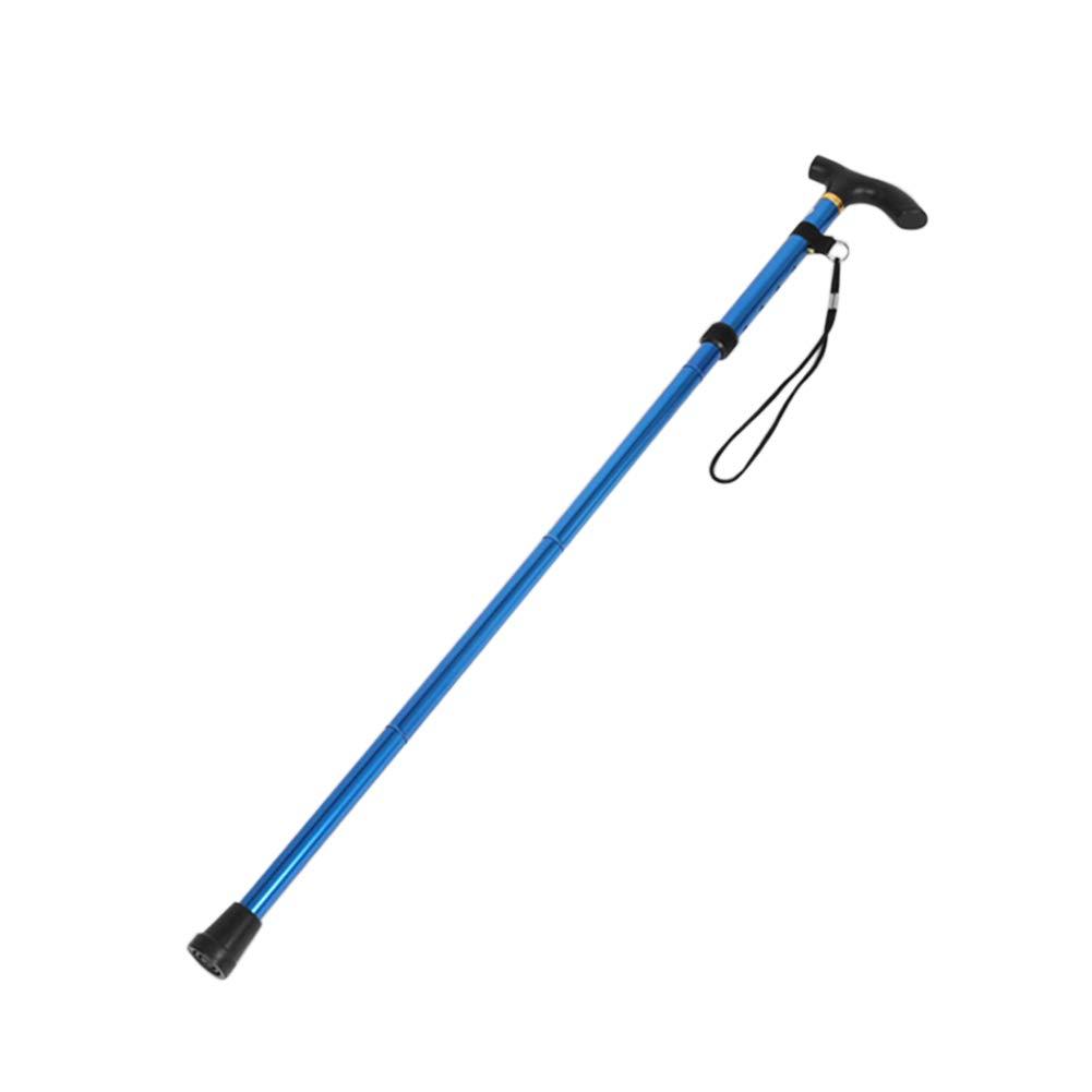 pergrate bastone da escursionismo trekking Trekking Ultralight 4/sezioni Canes regolabili in lega di alluminio