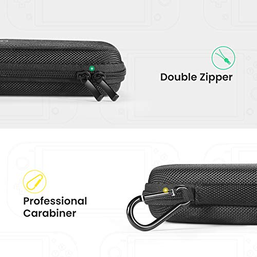 UGREEN Carrying Case for Nintendo Switch Lite, Portable Protective Hard Shell Travel Carrying Pouch Bag for Nintendo Switch Lite Console & Accessories
