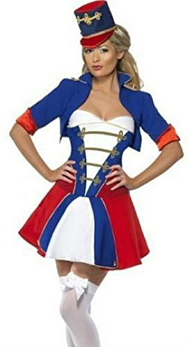 Naughty Nutcracker Costume Woman Size (Naughty Harlequin Clown Costumes)