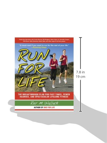 41fKF6X5EpL - Run for Life: The Injury-Free, Anti-Aging, Super-Fitness Plan to Keep You Running to 100