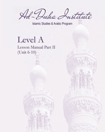 Download Level A Lesson Manual Part II: Unit 6-10 pdf