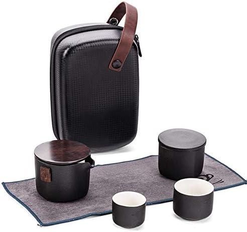 絶妙なギフトボックスとカンフーティーセット中国の手作りの磁器のティーセット、ティーポット6個の像ティーカップ Maingf