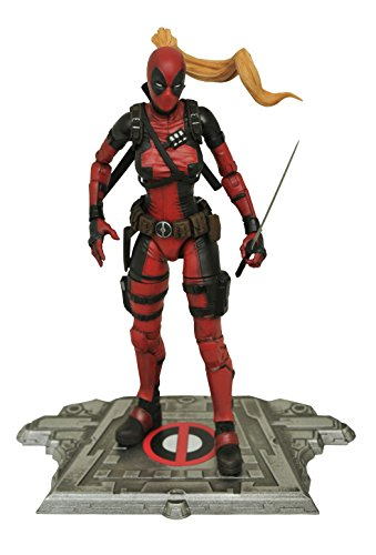 Diamond Select Toys Marvel Select Lady Deadpool Action Figur
