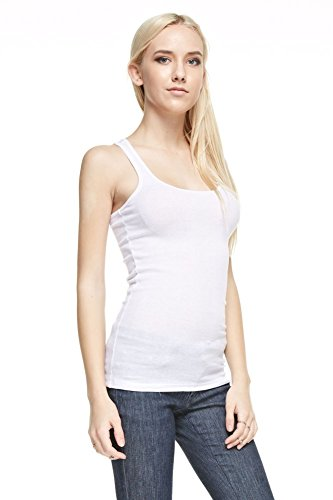 Classic Ribbed Racerback Tank Top product image