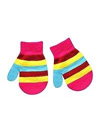 Lavany Baby Winter Gloves For 1-4 years Kids Boy Girl Full Finger Warm Mittens