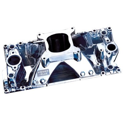 Professional Products 52032 Polished Hurricane Intake Manifold for Small Block Chevy