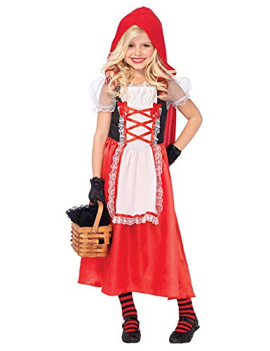 Zhuhaijq Halloween Fancy Dress Kids Costumes Red Riding Hood Costumes Performance