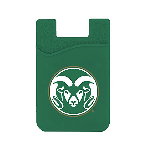 Guard Dog Card Keeper/Card Holder Silicone Phone Wallet (Colorado State ()