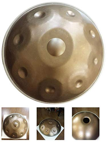 JHKJ Hand pan Steel Tongue Drum Metal Hand Pan Drum Instrumento Melodic Percussion Instrument with Hand Pan Bag