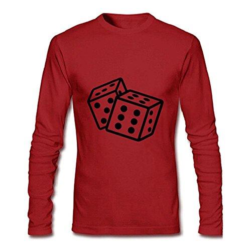 Men's Dice Long Sleeve T-Shirt