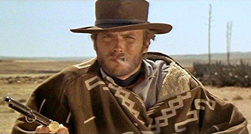 Clint Eastwood Style Spaghetti Western Cowboy Poncho Movie ...