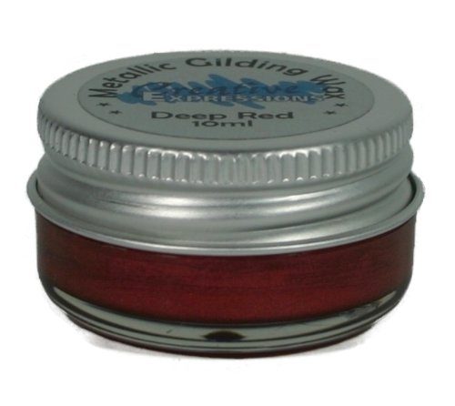Cosmic Shimmer Gilding Wax, Deep Red Creative Expressions CSGWRED