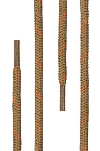 Di 5 70 Aus Ø 100 schnürsenkel Beige Polyester Mm 220 Trekkingschuhe Und Für Cm Ca Qualitäts orange 4 Rundsenkel Ficchiano 27 Längen Arbeitsschuhe Farben rqwWACrp