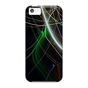 Snap-on Case Designed For Iphone 5c- Abstract Line hjbrhga1544