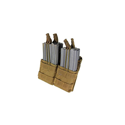 Condor MA43 Double Stacker M4 / M16 Magazine Pouch - Coyote Brown MA43-498