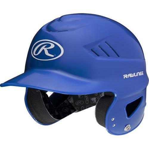 Rawlings Sporting Goods Coolflo Molded Baseball Batting Helmet, Royal, One Size