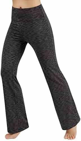 b868e840966ac Limsea Women's High Waist Pocket Yoga Pants Tummy Control Workout Running  Leggings