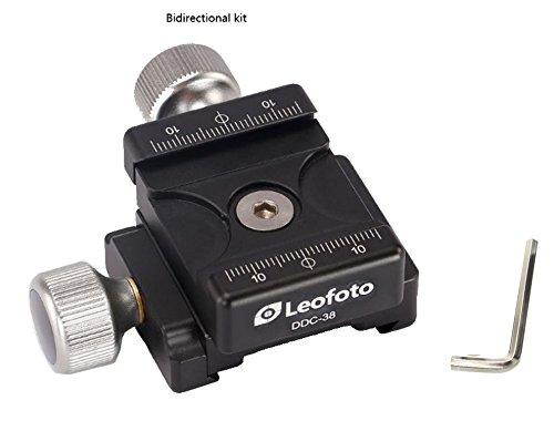 38mm DDC-38 Twin / Double Duplex Clamp Set Subtend / Bidirectional Arca Compatible Leofoto