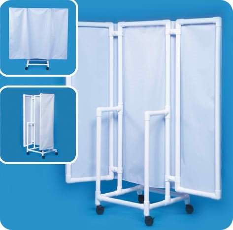 Privacy Screen - WPS70W - White Cover by Innovative Products Unlimited