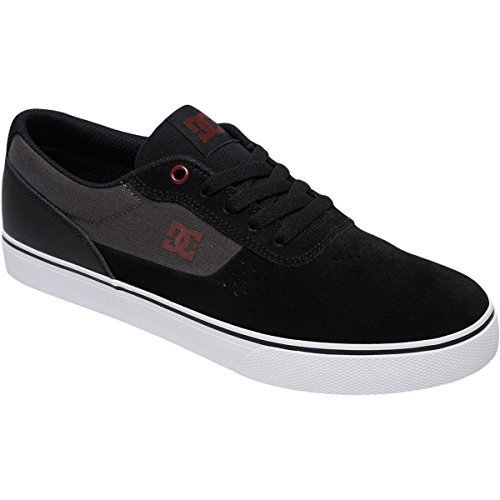 Switch Men's Signature Skateboarding Skate DC Shoe Charcoal Black X8BZ5Fn5
