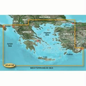 Garmin BlueChart g2 Vision VEU015R - Aegean Sea and Sea of Marmara - Maps 010-C0773-00
