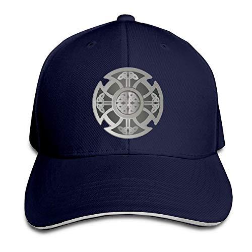 Classic Celtic Cross Knot Irish Shield Warrior Baseball Caps Adjustable Sandwich Hats