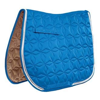 Used, Roma Ecole Star Quilted All Purpose Saddle Pad, Size for sale  Delivered anywhere in USA