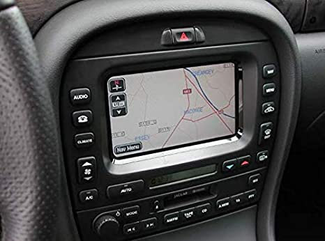 Jaguar XJ / S-Type & X-Type UK & Western Europe Sat Nav Map DVD 2011- 2012