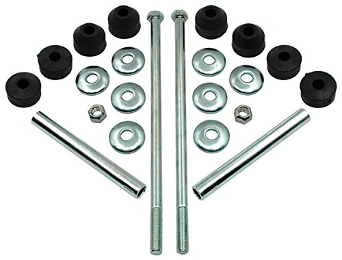 ACDelco 46G0012A Advantage Front Suspension Stabilizer Bar Link Kit with Hardware (Bar Kit Stabilizer Front)