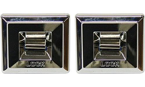 Door Lock Switch for Chevrolet Caprice 77-79 Power 2 in. Width 1-3/4 in. Height With 3-Prong Connector Set of 2
