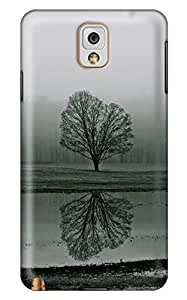 CaseandHome Tree Reflection Design PC Material Hard Case For Samsung Galaxy N9000 Note 3