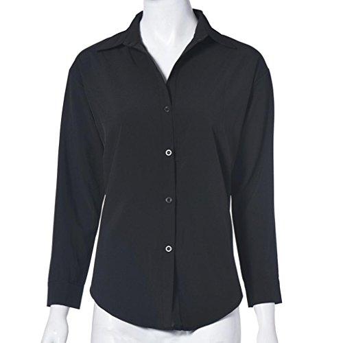 Chemisimer Blouse Femme Col Soie Grande Noir En Chemises De V Koly Taille En Manches De Femmes Longues Mousseline tqtrFwB