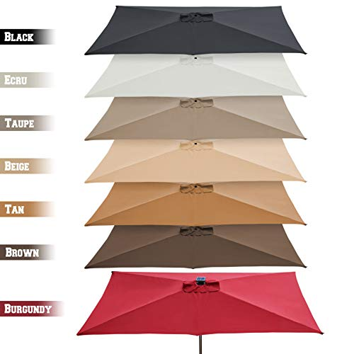 Which are the best rectangular umbrella replacement canopy available in 2019?