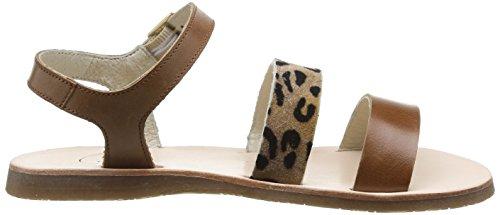 JONAK Baia - Zapatos Niñas Marron (Cognac/Girafe)