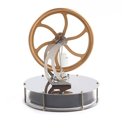 Ferroday Low Temperature Stirling Engine Motor Steam Heat Education Toy by Ferroday