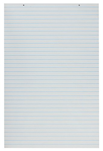 Writing Paper Chart - School Smart 48198 Primary Chart Paper Pads - 24 x 36 Ruled Short - Pack of 100