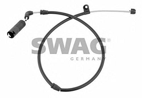 SWAG Front Axle Brake Pad Wear Sensor Fits BMW X3 E83 Suv 34353411756
