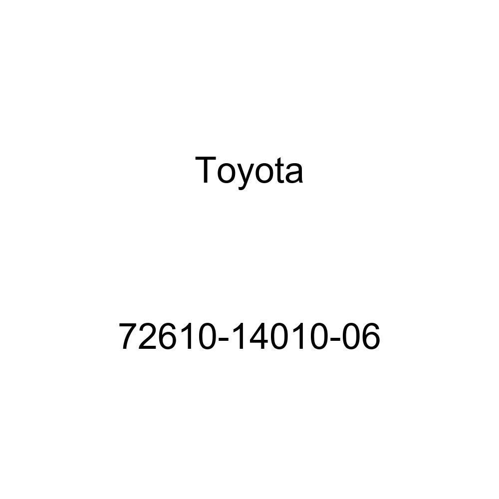 TOYOTA Genuine 72610-14010-06 Seat Back Stopper Striker Sub Assembly